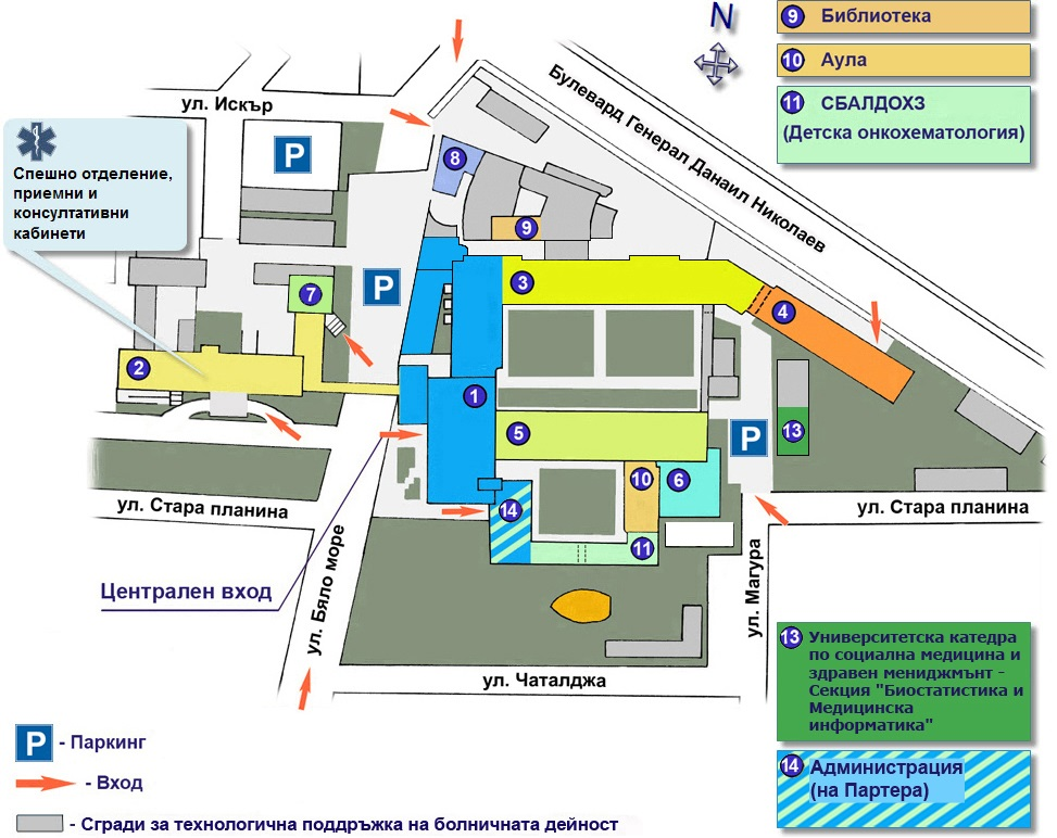 Karta 2019 Aleksandrovska Bolnica Karta